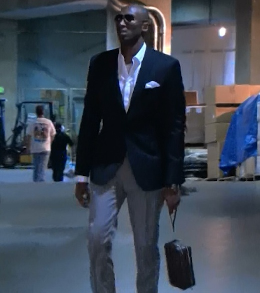 Kobe Bryant Courtside Convo